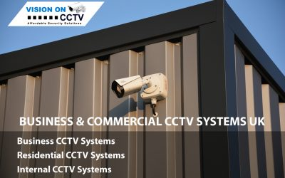 Commercial and Business CCTV System in UK by VisionON