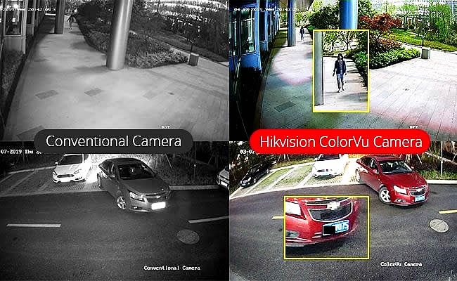 New Amazing ColorVu CCTV Camera System Available in Stafford