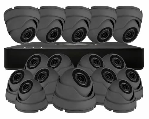 VISIONON  Aveesa 16 Camera Commercial/Business CCTV SYSTEM