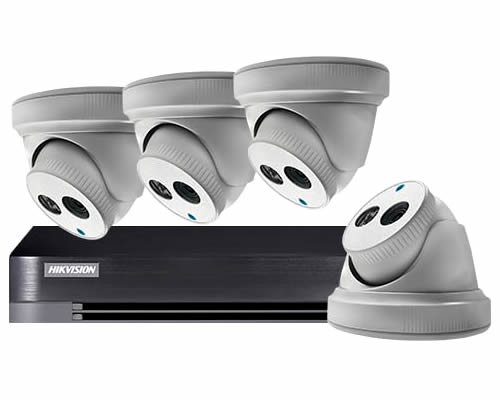AVEESA 4 CAMERA HOME CCTV SECURITY SYSTEM