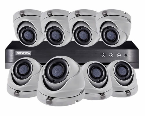 HIKVISION 8 CAMERA HOME CCTV SECURITY SYSTEM