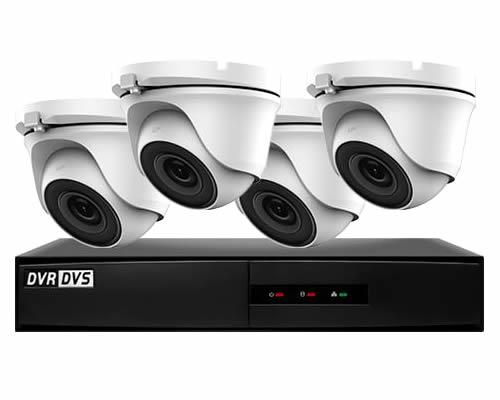 VisionOn Hiwatch 4 Camera Business CCTV System