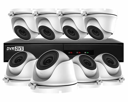 VisionOn Hiwatch 8 Camera Business CCTV System